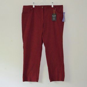 Zac & Rachel Garnet Slim Leg Stretch Pants